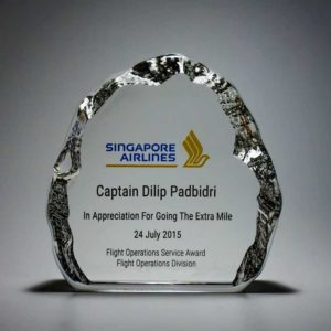 Crystal Plaques ALCP0044 – Crystal Plaque
