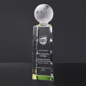 Crystal Trophies ALCR0028 – Crystal Award