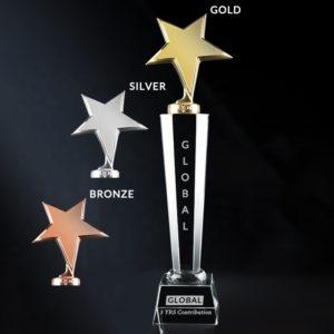 Crystal Trophies ALCR0009 – Crystal Award