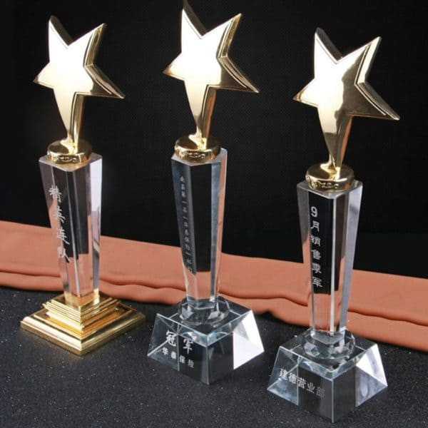 Crystal Trophies ALCR0009 – Crystal Award