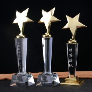 ALCR0009 – Crystal Award Crystal Trophies