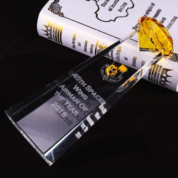Crystal Trophies ALCR0008 – Crystal Award