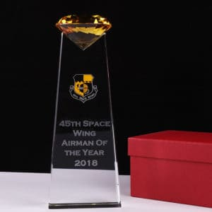 ALCR0008 – Crystal Award Crystal Trophies