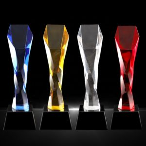 ALCR0005 – Crystal Award Crystal Trophies