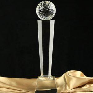Crystal Trophies ALCR0079 – Golf Crystal Award