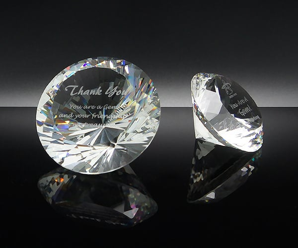 Customized Gifts ALGC0001 – Crystal Paper Weight