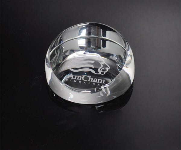 Customized Gifts ALGC0014 – Crystal Paper Weight