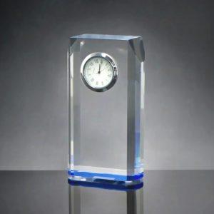 ALGC0015 – Crystal Desktop Clock Customized Gifts
