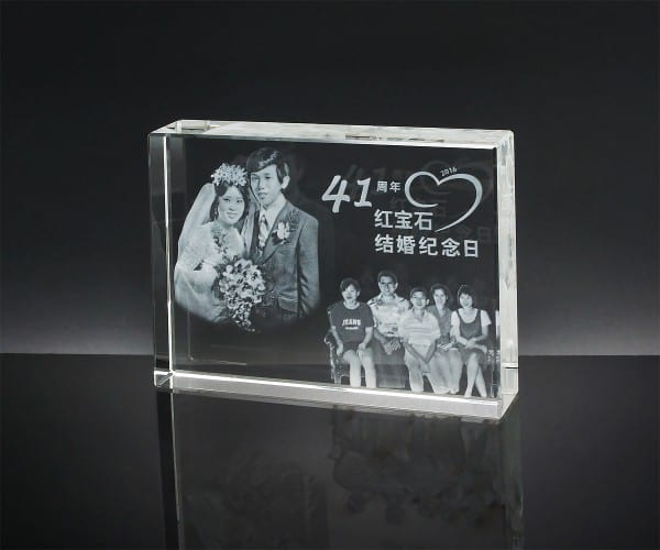 Customized Gifts ALGC0021 – Crystal Paper Weight