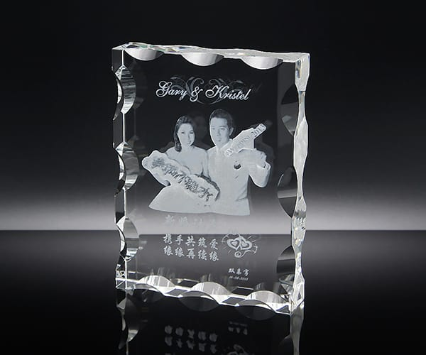 Customized Gifts ALGC0019 – Crystal Paper Weight