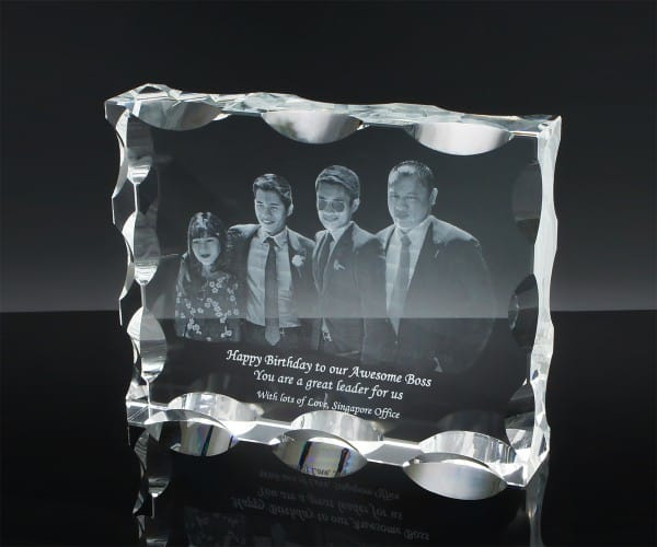 Customized Gifts ALGC0022 – Crystal Paper Weight