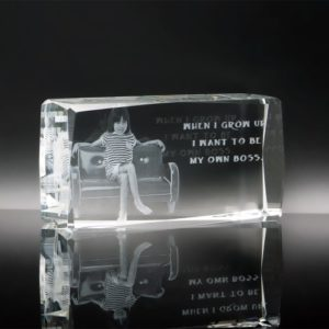 Customized Gifts ALGC0023 – Crystal Paper Weight